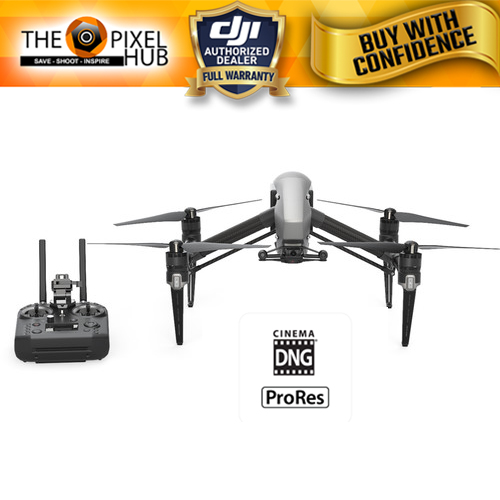 DJI Inspire 2 Raw Drone With Cendence Remote & CinemaDNG and Apple ProRes