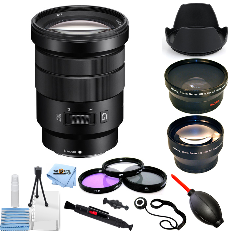 Ultraviolet UV Multi-Coated HD Glass Protection Filter for Sony E PZ 18-105mm F4 G OSS Power Zoom Lens