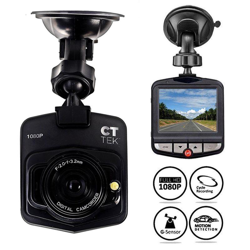 "2.4/"" Vehicle Car DVR Camera Video Recorder Dash Cam G-Sensor Lens HD 1080P New"