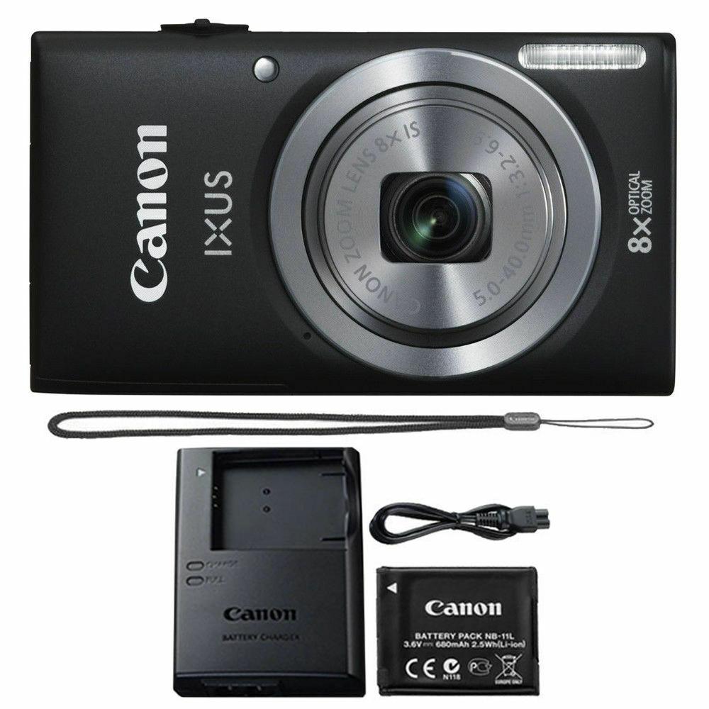 1803c001 Canon IXUS 185 20.0 MP cámara digital-Negro
