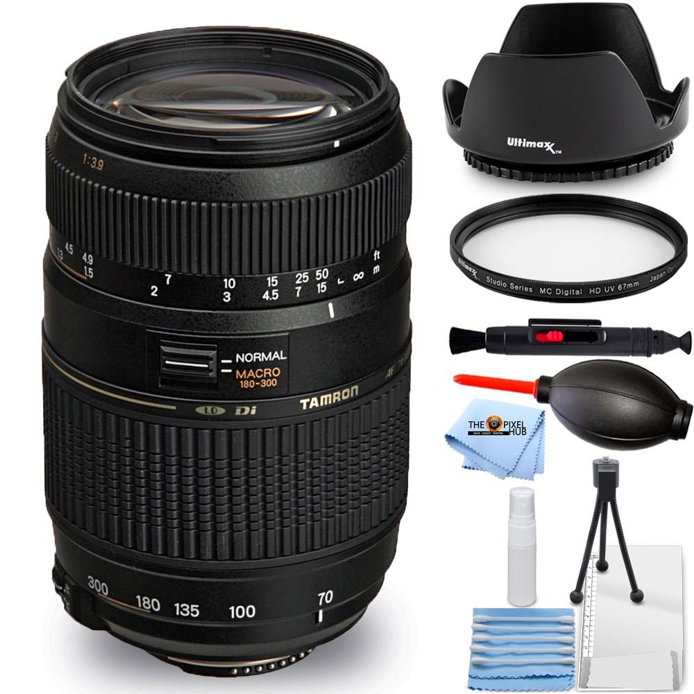 Ultraviolet UV Multi-Coated HD Glass Protection Filter for Tamron SP 70-300mm F//4-5.6 Di LD VC USD Lens